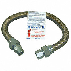 Appliance Connector, Flexible, 24 In.