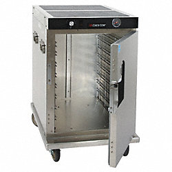 Insulated Hot Cabinet, Aluminum, Half-Size