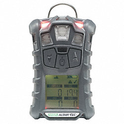 Multi-Gas Detector, 4 Gas, -4 to 122F, LCD