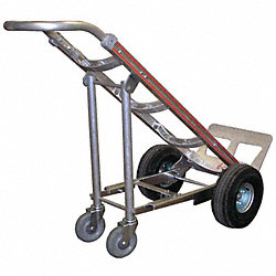 Hand Truck Fourth Wheel Attachment