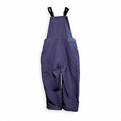 Bib Overalls, Navy Blue, Cotton, XL