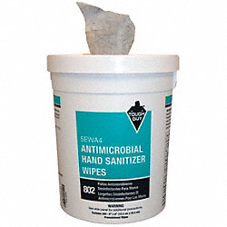 Antimicrobial Hand Wipes, Canister, PK 200