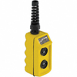 Pendant Station, Yellow, 2NO, Up/Down