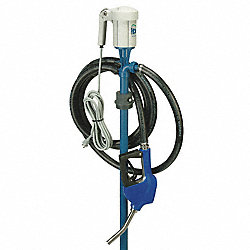 Drum Pump, 1/3 HP, 3/4 In Outlet, 49 In OAL