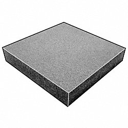 Foam Sheet, 220 Poly, Charcoal, 2x24 x18 In