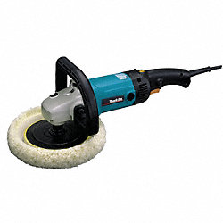 R/A Polisher, 7 In, RPM 600-3000, 10 A, 120V