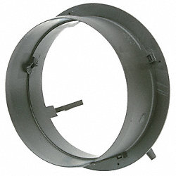 Duct Start/Take Off Collar, 8 In Duct Dia