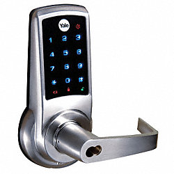 Electronic Lock, Touch, Accepts SFIC