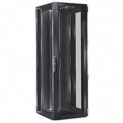 Network Cabinet, Steel, Black