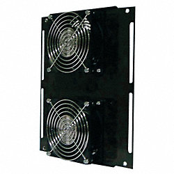 Axial Fan, 115VAC, 11-3/7In H, 8-1/3In W