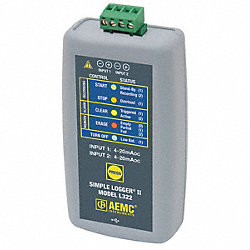 Process Control Logger, 4 to 20mADC