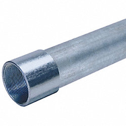 Conduit, Rigid, 3 1/2In, 10Ft, Aluminum