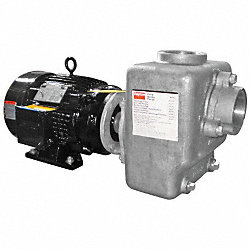 Centrifugal Pump, Self-Priming, 7.5 HP, SS