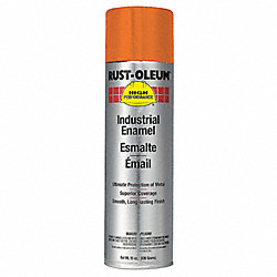 Spray Paint, Safety Orange, 15 oz.