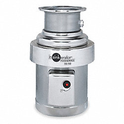 Disposer, Waste, 3/4 HP