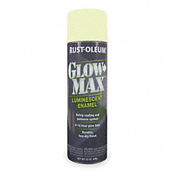 rust oleum glow in the dark spray paint green 15 oz spray paints. Black Bedroom Furniture Sets. Home Design Ideas