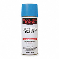 Spray Paint, Safety Blue, 12 oz.