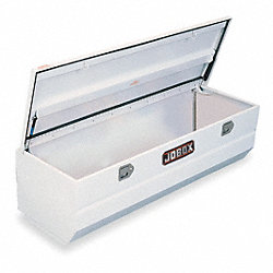 Truck Box, Chest, 10.3Cu-Ft, Stl, White