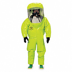 Encapsulated Suit, 3XL, Tychem TK, Lime