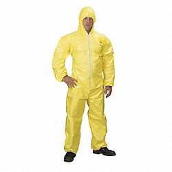 Hooded Tychem(R) QC, Elastic, 4XL, PK 4