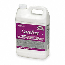 Floor Finish, 1 gal., Buffing, PK4