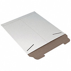 Mailer Envelope, 15 In. W, White, PK 100