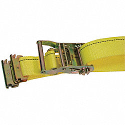 Logistic Ratchet Strap, 16ft x 2In, PK5