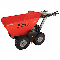 Powered Dumper, 2 Wheel Drive, 450 lb. Cap