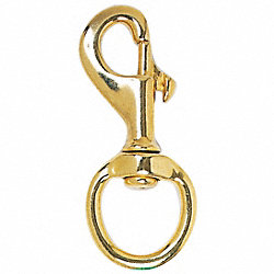 Snap Hook, 2 1/2in, Brass, Gold