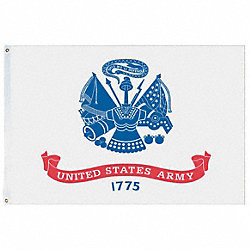 US Army Flag, 5x8 Ft, Nylon