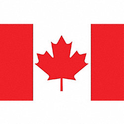 Canada Flag, 4x6 Ft, Nylon