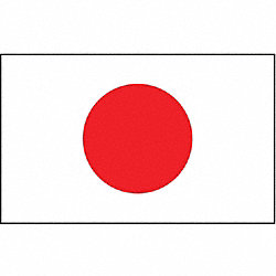 Japan Flag, 4x6 Ft, Nylon