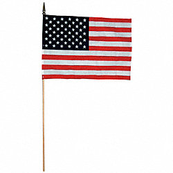 US Handheld Flag, 12x18in, PK144