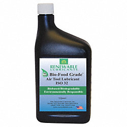 Air Tool Lubricant, ISO 32, 32 oz, H1