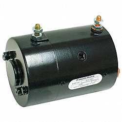 DC Motor, 6-3/4 In. L, CW/CCW, Wound Field