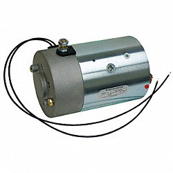 DC Motor, 7-7/16 In. L, CCWDE, Wound Field