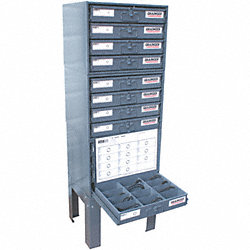 Buna O-Ring Asst, Steel Cabinet, 1324 Pc