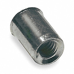 Rivet Nut, Flush, Pk50