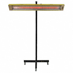 Infrared Panel Heater, 120V, 5120 BtuH