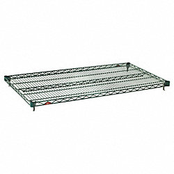 Wire Shelf, 36 W x 18 in. D, PK 5