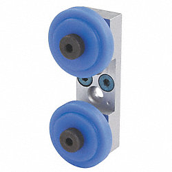 Roller Wheel Bracket Assembly, 123.3 mm L