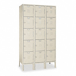 Locker, 5 Tier, 3 Frame