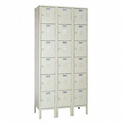 Locker, 6 Tier, 3 Frame