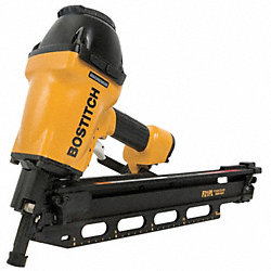 Air Framing Nailer, Full Rnd, 21 Deg, Plast