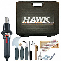 Flooring Heat Gun Kit, 80-1250 F, 14.6 A