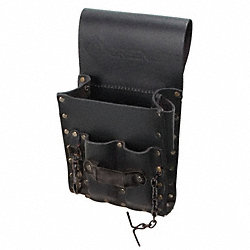 Tool Pouch, Leather, 5 Pocket