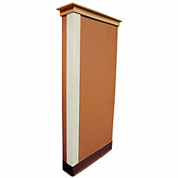 Corner Guard Almond 3x48 Adhesive
