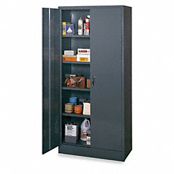 Quick Assembly Cabinet, Unassembled, Gray
