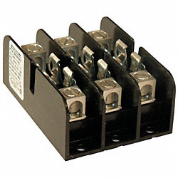 Fuse Holder, 60A AC, 300V, 3 Pole, Molded
