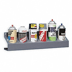 Can Caddy, 6 Bin, Gray, Steel